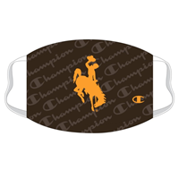 Champion® Branded Bucking Horse Face Mask