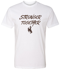 Stronger Together Bucking Horse Tee
