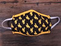 Third Street Sportswear® Cotton Bucking Horse Repeat Face Mask