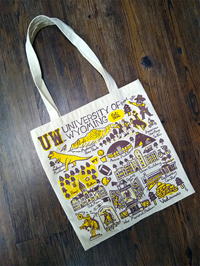 Julia Gash UW Collage Tote Bag