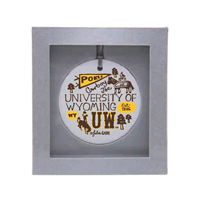 Julia Gash UW Collage Ornament
