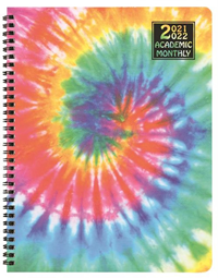 Planner Academic Tie Dye Monthly