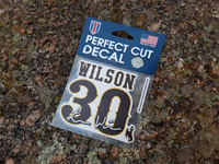 Logan Wilson NFLPA Decal