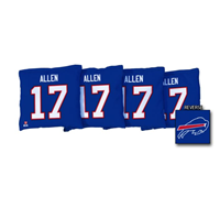 Josh Allen Bills Corn Hole Bags