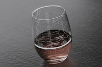 Well Told Design® Laramie College Town Stemless Wine Glass