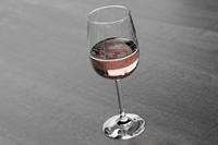 Well Told Design® Laramie College Town Wine Glass