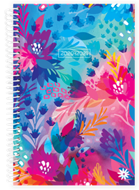 Planner Floral Jungle Academic