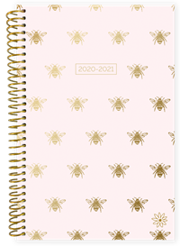 Planner Gold Bees Academic