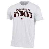 Under Armour® University of Wyoming Performance Cotton Tee