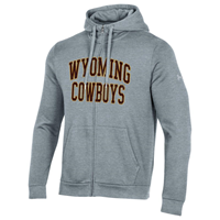 Under Armour® All Day Fleece Wyoming Cowboys Full Zip Hoodie