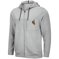 Colosseum® Performance Full Zip Bucking Horse Sweatshirt