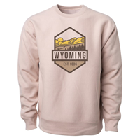 USCAPE® Geo Hexagon Heavyweight Wyoming Crew