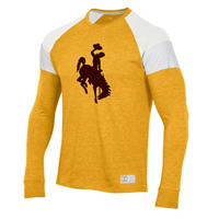 Under Armour® Shoulder Stripe Bucking Horse Long Sleeve Tee
