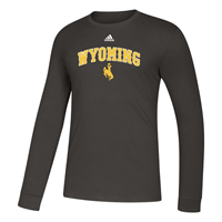 Adidas® Amplifier Wyoming Long Sleeve Tee