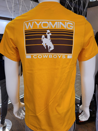Adidas® Amplifier Wyoming Cowboys Tee