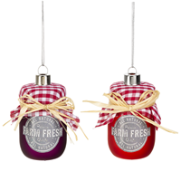 Jam Jar Ornament