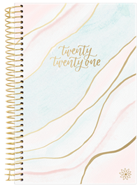 2021 Yearly Planner Ehtereal Marble