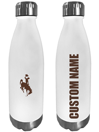 Personalized Tritan Frosted Bottle with Bucking Horse
