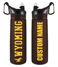 Personalized Frosted Wyoming Sport Bottle