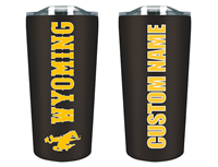 Personalized Stainless Soft Touch Wyoming Tumbler