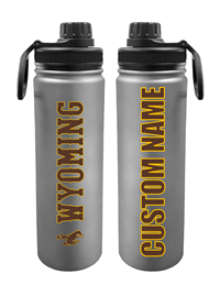 Personalized Stainless Steel Wyoming Sport Bottle