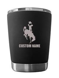 Personalized Bucking Horse Low Ball Tumbler
