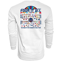 Blue 84® March Madness Long Sleeve Tee All Team Women's Basketball 2021