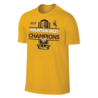 The Original Retro Brand® Official Locker Room Tee Mountain West Women's Basketball Tournament Champions 2021